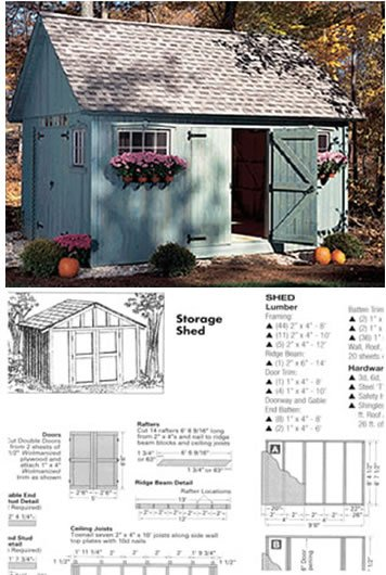 BUILD ANY SHED IN A WEEKEND ....... Even...