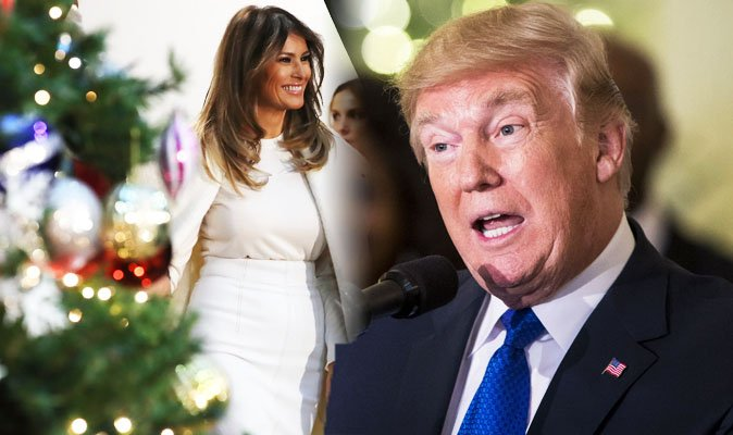 This is how billionaire Donald Trump and First Lady Melania spend Christmas Day https://t.co/HrBrjx87de