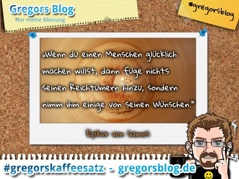Gregors Blog On Twitter Gregorskaffeesatz Zitat Glück