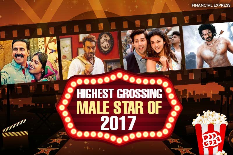 Baahubali Prabhas beats Salman Khan, Shah Rukh Khan, Akshay Kumar, stars in highest grossing film of 2017; check top 10 actors https://t.co/nU1Wf563wp