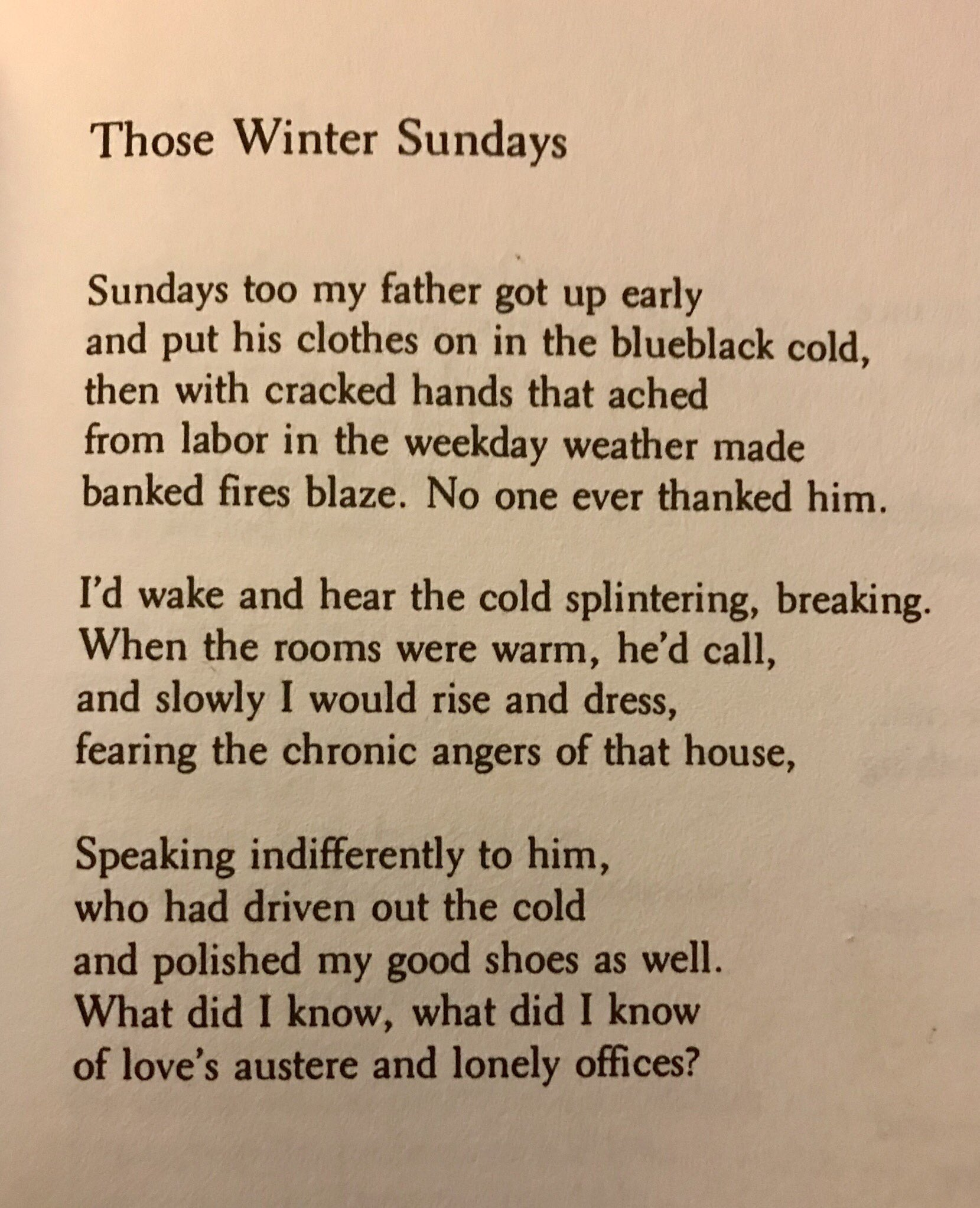 those winter sundays by robert hayden pdf