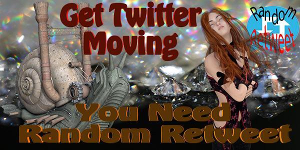 Get Your Twitter Moving use Random Retweet #asmsg #spub #ian1 #iartg #author #scifi  http:// rretweet.com  &nbsp;  <br>http://pic.twitter.com/tpbRrHBY3E