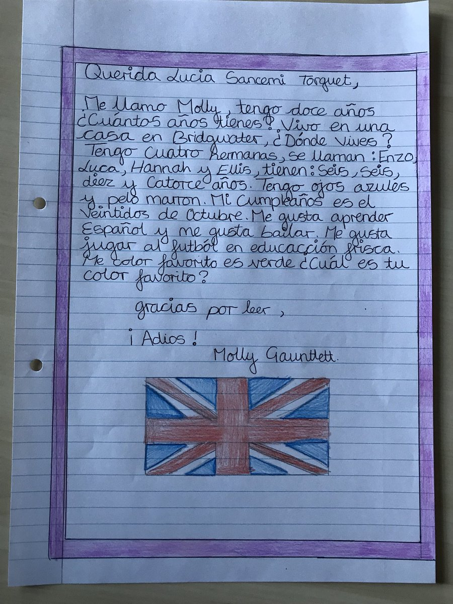 Georgina dorr on twitter so impressed with year 7s letters which georgina dorr on twitter so impressed with year 7s letters which are ready to be sent to their new pen pals in spain spiritdancerdesigns Images