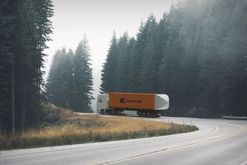 Drag-Reducing Shipping Truck Tails https://t.co/e52vf5NHT8 #Autos