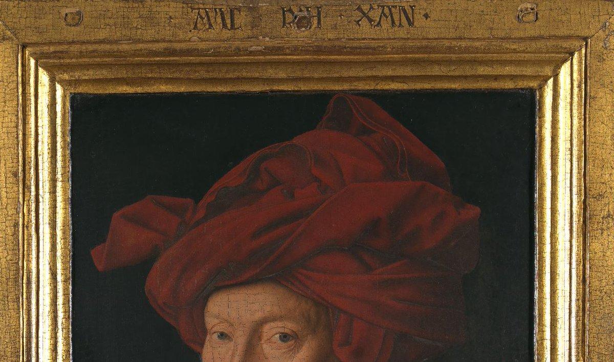 National Gallery On Twitter The Gold Frame Surrounding Jan Van