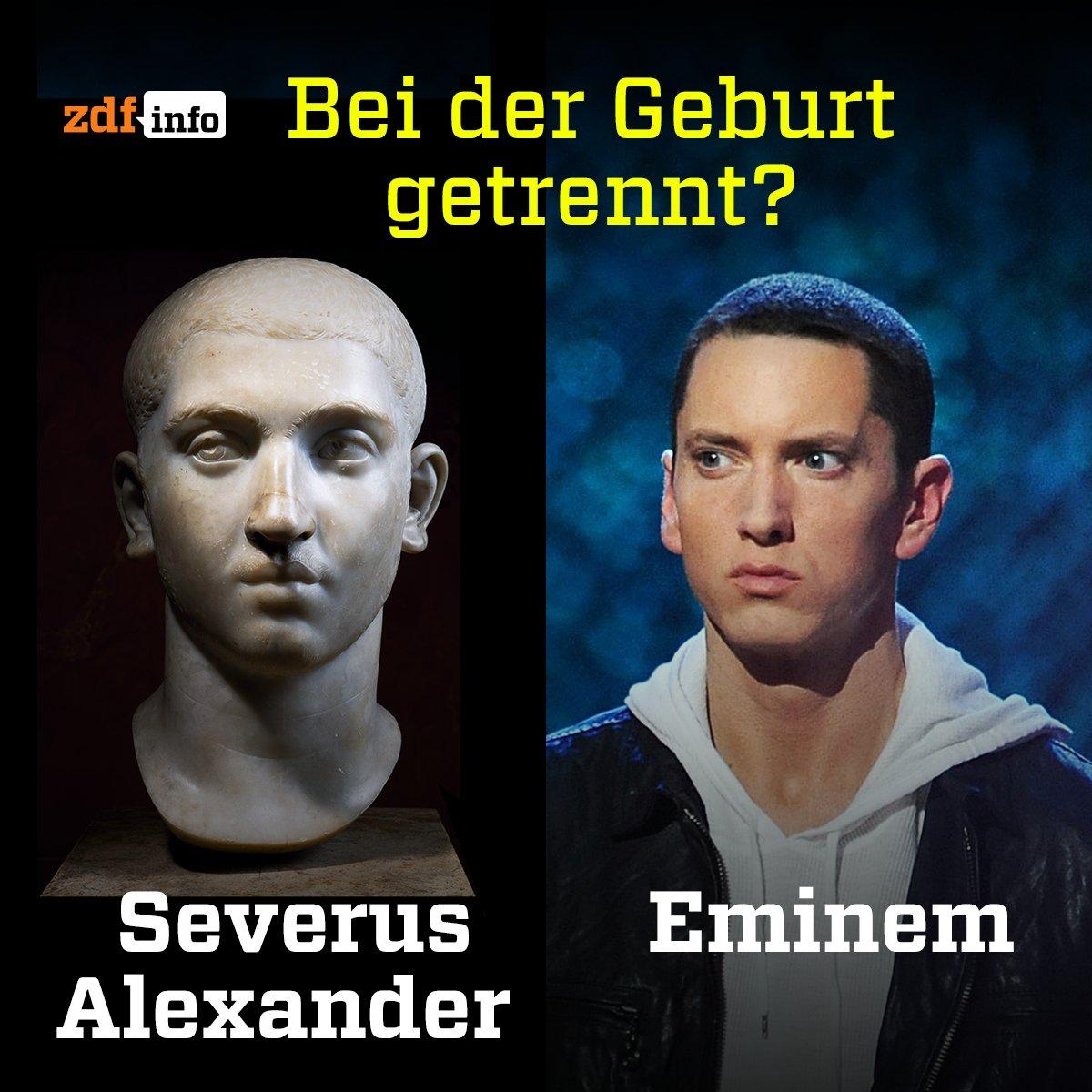 #Eminem bringt sein neues Album #REVIVAL raus. Wann der römische Kaiser Severus Alexander nachzieht, bleibt abzuwarten. https://t.co/iCXeGLzozn
