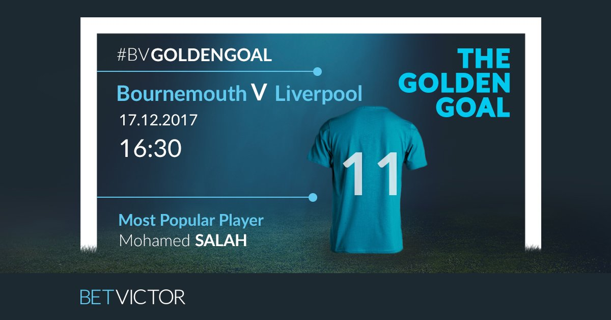 Unsurprisingly, Premier League top scorer Mo Salah is the most popular pick for this week's #BVGoldenGoal with almost 30% of picks.  For your shot to win £25,000 for free, enter here: https://t.co/f4QEyI8jV7