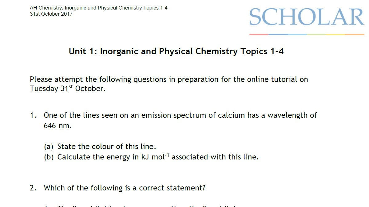 Scholar On Twitter Studying Ah Chemistry Try Our Inorganic And