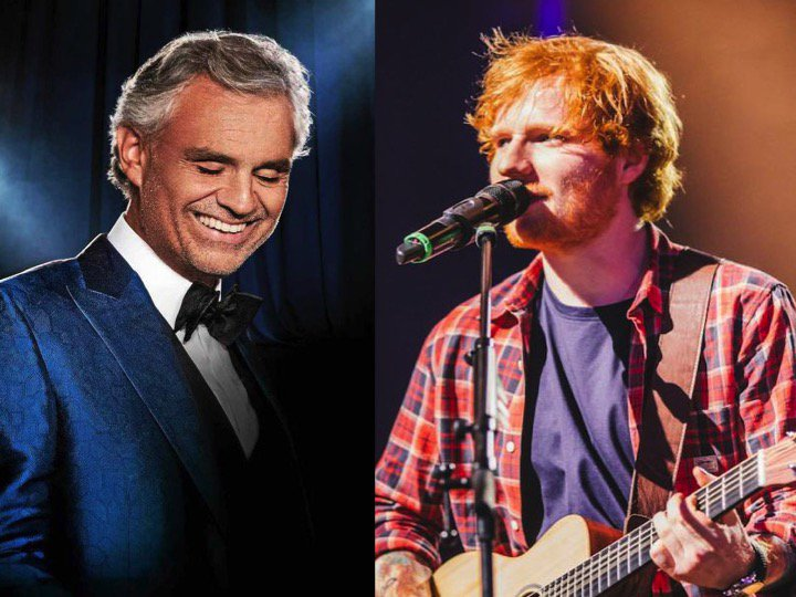 #EdSheeran releases amazing new #Perfect Duet with #AndreaBocelli!❤️🔥🌟🌟 https://t.co/ApAg7eRkQQ