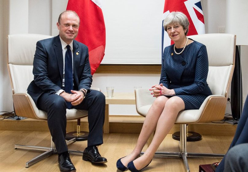 """""""We are heading towards a softer version [of Brexit]"""" Maltese PM Muscat tells me after bilateral with PM last night """"pretty obvious now we are converging on a more sensible approach... not sure it is what the UKG says it prefers"""""""