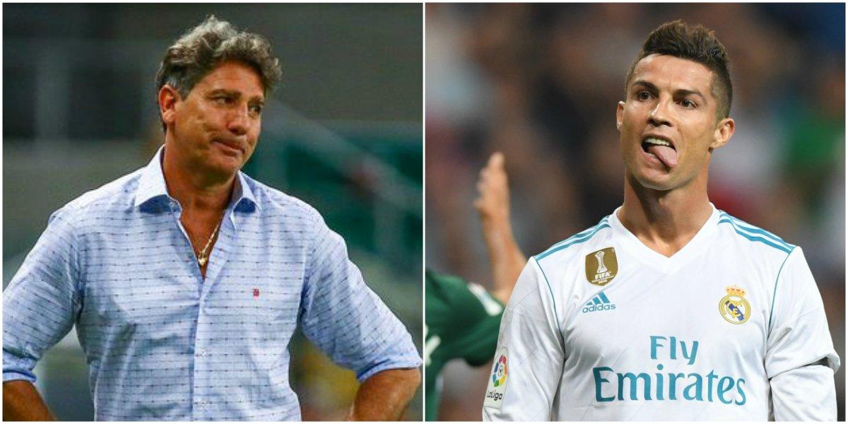 'Louco', 'ninguém o conhece'... Imprensa de Madri reprova comentário de Renato, que disse ter jogado mais do que Cristiano Ronaldo https://t.co/xFzGx7gqRR