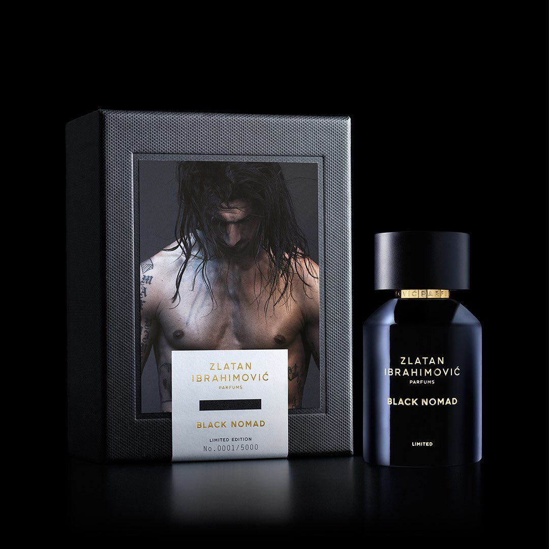 Simply perfect. BLACK NOMAD Limited Edition.  Get it at  @zlatanibrahimovicparfums