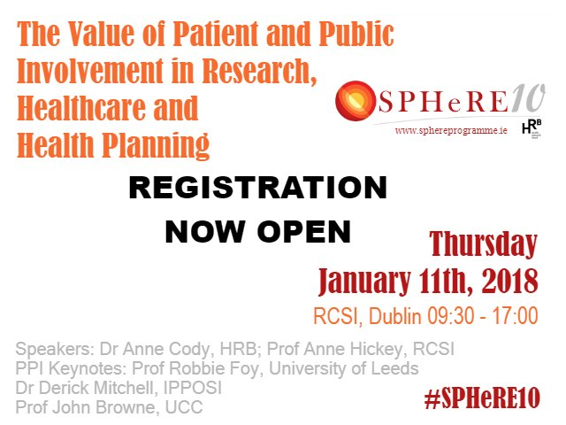 The #SPHeRE10 Conference on Thurs Januar...