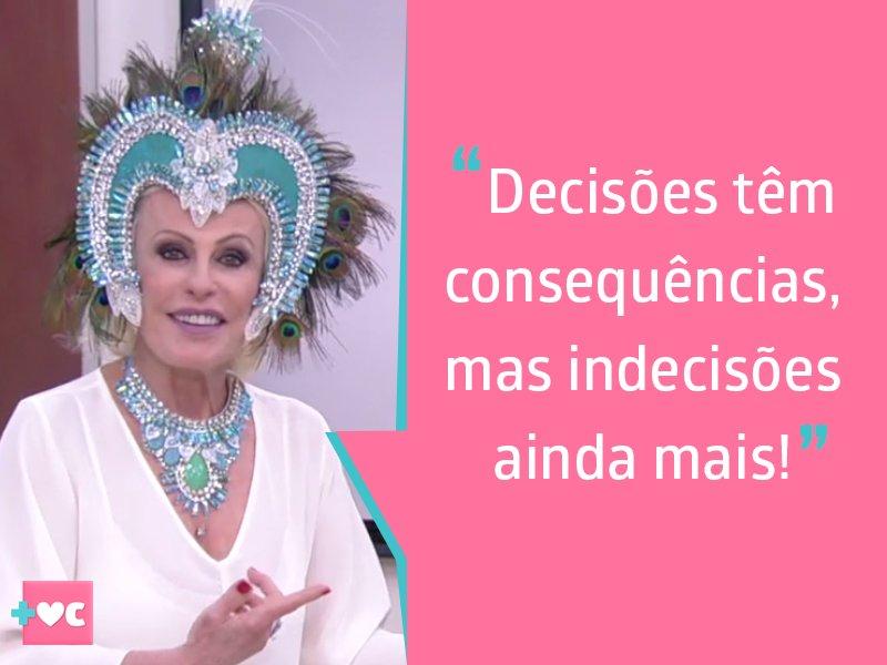 Pense nisso! #PensamentoDoDia #MaisVocê...