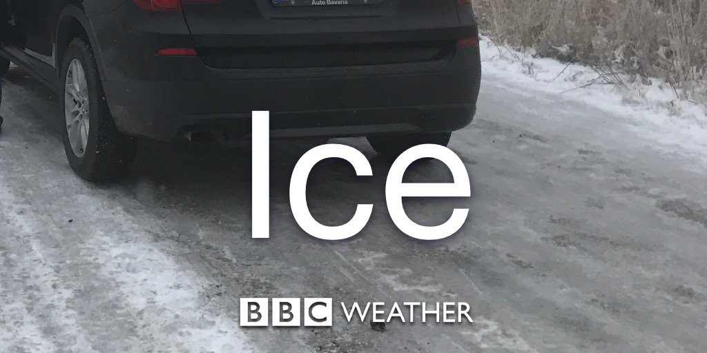 New #ice warnings issued by the Met Office. Details of where and when here: https://t.co/DucwfOVcwR Jo