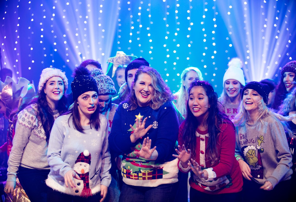 It's beginning to look a lot like Christmas at the Conservatoire - our @RCS_MT Theatre students star in our annual festive show. #xmasjumperday <br>http://pic.twitter.com/7qXFaYgLER