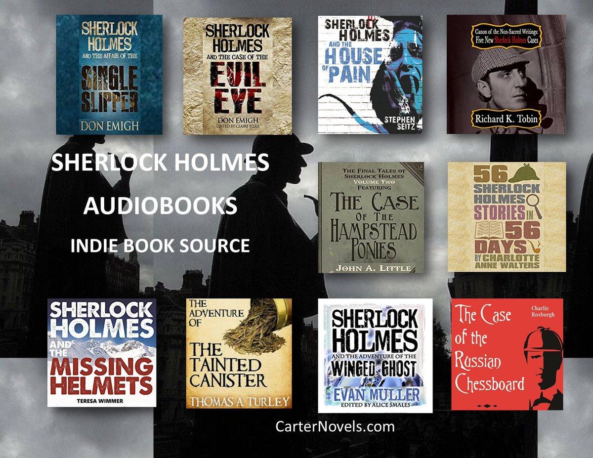 Visit CARTER&#39;S BLOGSPOT #blog #BookBoost #IAN1 #IARTG #AuthorUpRoar #indieauthor #amreading #avidreader #bookstore #BestSellers #Audiobook #Fiction #Romance #Thriller #Suspense #Childrens #YA #scifi #friyay  Supporting Indie  https:// cartersnovels.blogspot.com/2017/12/gift-i deas-sherlock-audiobooks.html &nbsp; … <br>http://pic.twitter.com/DYqvZJQSvX