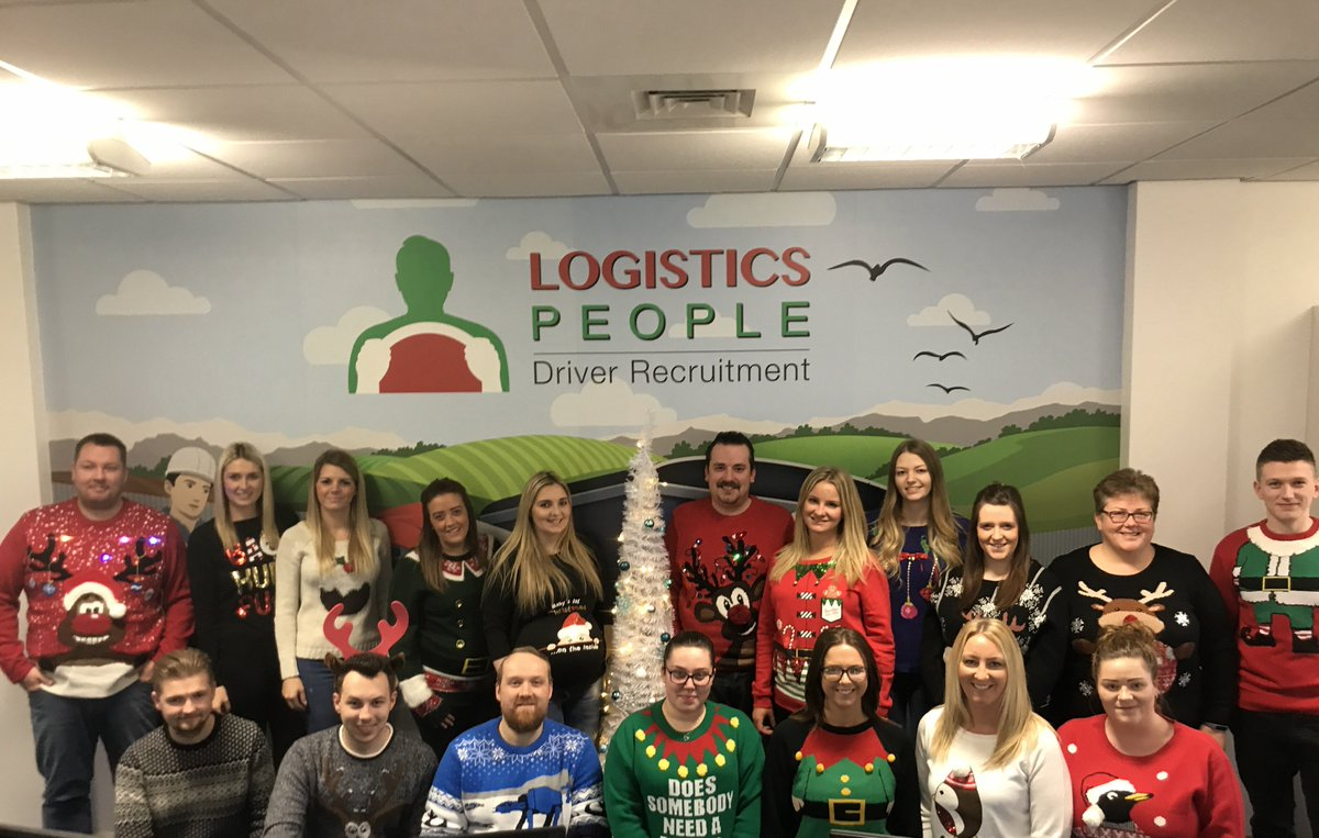 Christmas Jumper Day in the Logistics Pe...