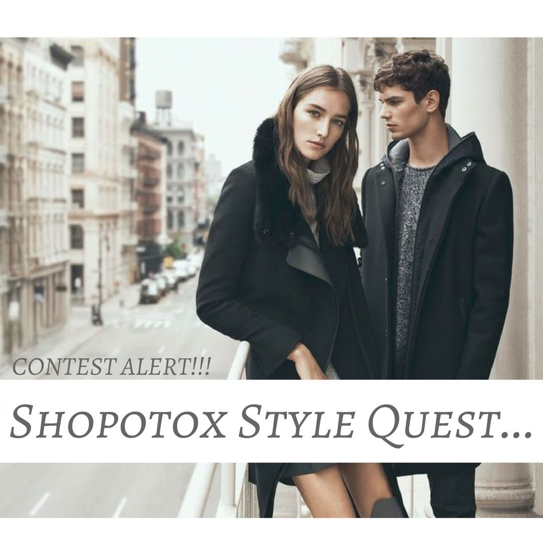 Be the Best of the Quest... Starting Tomorrow...Stay Tuned for More Details #shopotox #contest #style #shopping #shopoholic #Participateandwin #ContestAlert<br>http://pic.twitter.com/j2OVfZHsr3