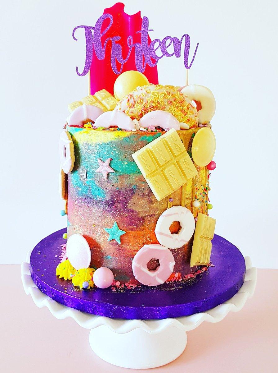 The Cake Lab Uk On Twitter A Funky 13th Birthday Unicorn