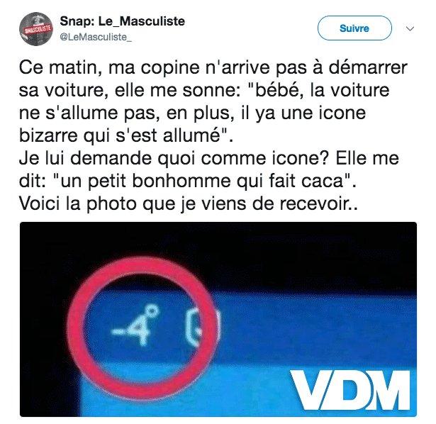 L'icône très bizarre ! https://t.co/p90ZhteZ1J #VDM #viedemerde @LeMasculiste_