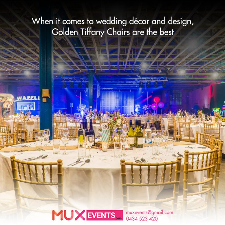 Mux events on twitter we have a vast range of chairs available muxevents call now 61 434 523 420 chairhire newyear melbourne australia birthday reception wedding events christmas hirenow event party junglespirit Gallery