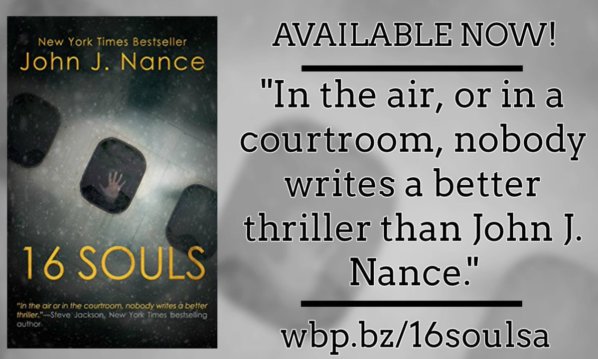 16 SOULS takes the reader for a wild ride in a heart-stopping #aviation and legal #thriller.  Check it out.  http:// wbp.bz/16soulsa  &nbsp;  <br>http://pic.twitter.com/YUpOHPxgbz