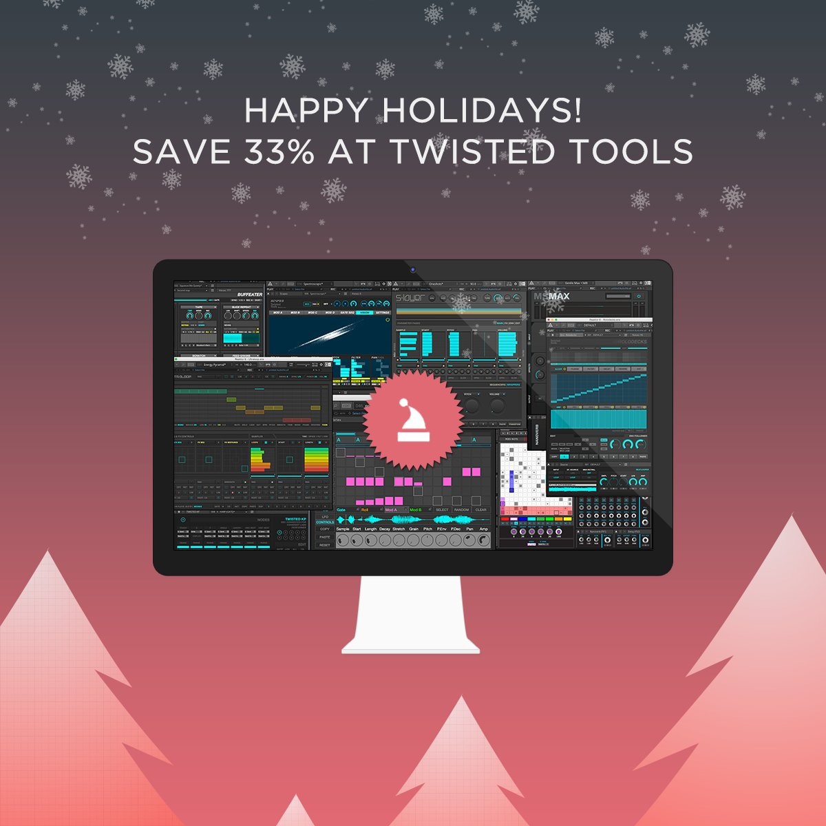 HOLIDAY SALE - Save 33% off all items at Twisted Tools. twistedtools.com