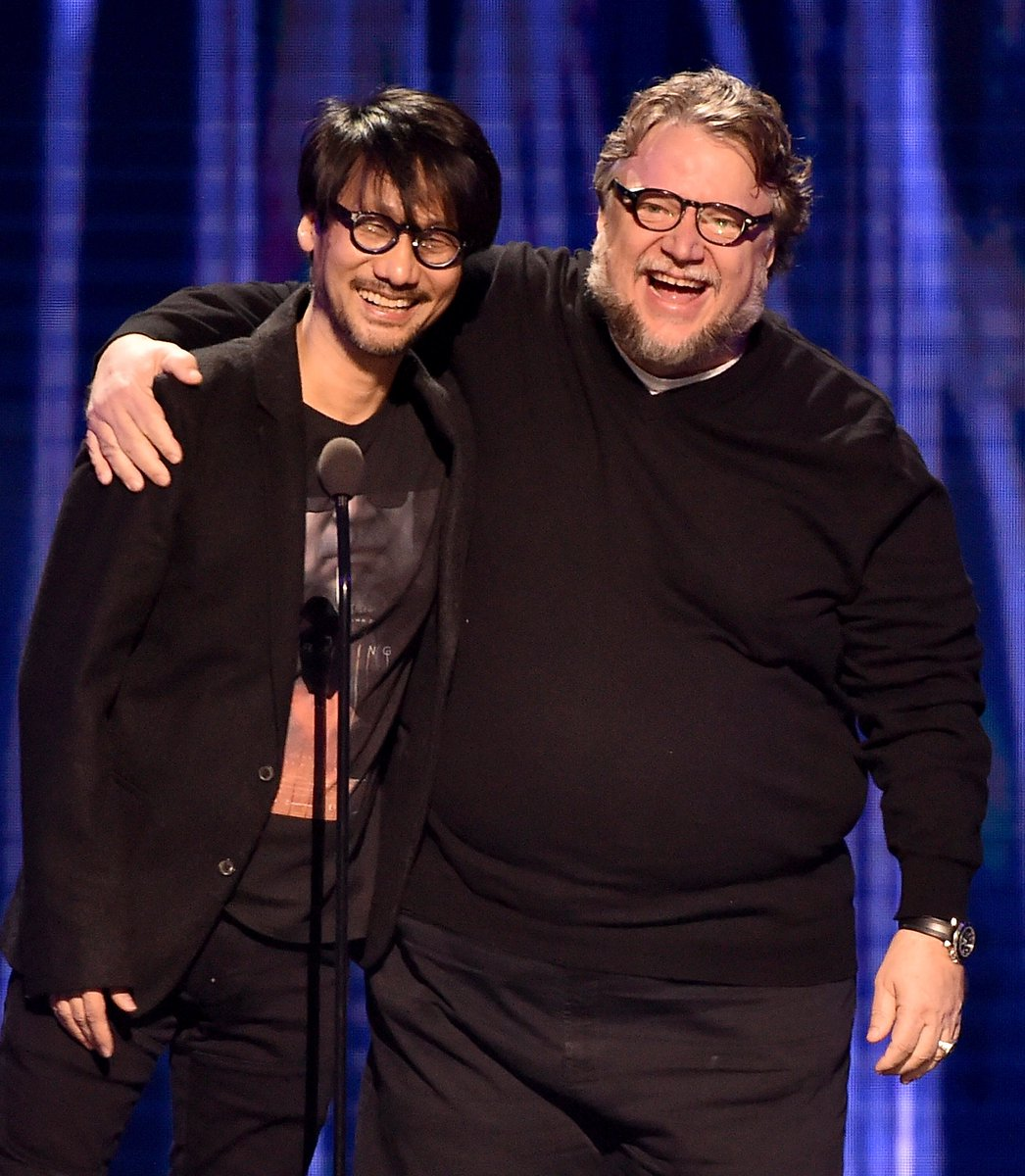 #TheGameAwards memory: @Kojima_Hideo and @RealGDT reunited on stage! https://t.co/FaedM8iLlH