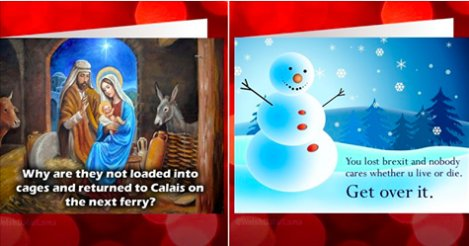 8 Christmas cards made better by real Da...