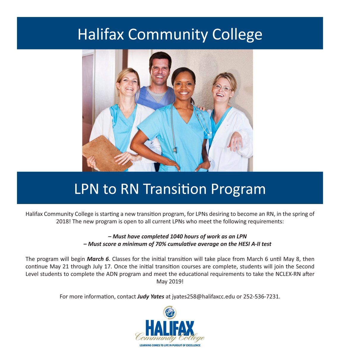 Halifax Cc On Twitter Lpns Can Now Earn Their Rn By May 2019 Hcc