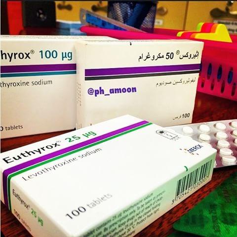 Dr Khalid Alghamdi בטוויטר التوصيات بخصوص تناول دواء الثيروكسين ١ تحدد الجرعة حسب وزن المريض بمعدل 1 6ميكروغرام لكل كيلوغرام يوميآ مع تعديل الجرعة حسب نتيجة تحليل الغدة٢ يجب اخذ الثيروكسين على معدة فارغة بعد