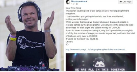 Pete Tong played Massive Attack on his t...