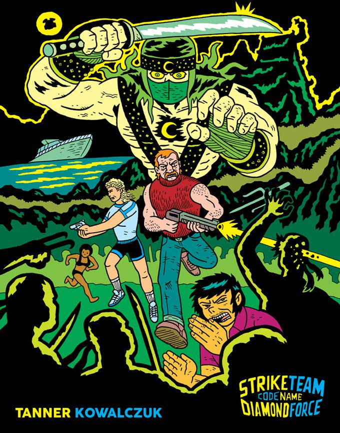 Strike Team: Code Name: Diamond Force On Kickstarter   http:// comicbuzz.com/strike-team-co de-name-diamond-force-on-kickstarter/ &nbsp; …  @LukKow83 @MikeIsErnie @kickstarter #grindhouse #comics #ninjas #kickstarter #indiecomics #comicbooks<br>http://pic.twitter.com/3bwAUjckke