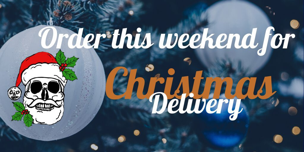 Order this weekend for Christmas deliver...