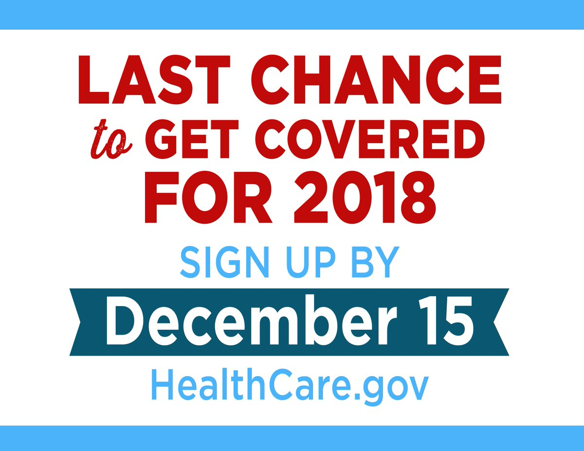 Today is the last day to #GetCovered. Every person deserves access to quality affordable health care - don't miss your chance to enroll at https://t.co/GWuzAKIwOT.  https://t.co/bTrXXAw4eQ https://t.co/AZfIXdmV2p