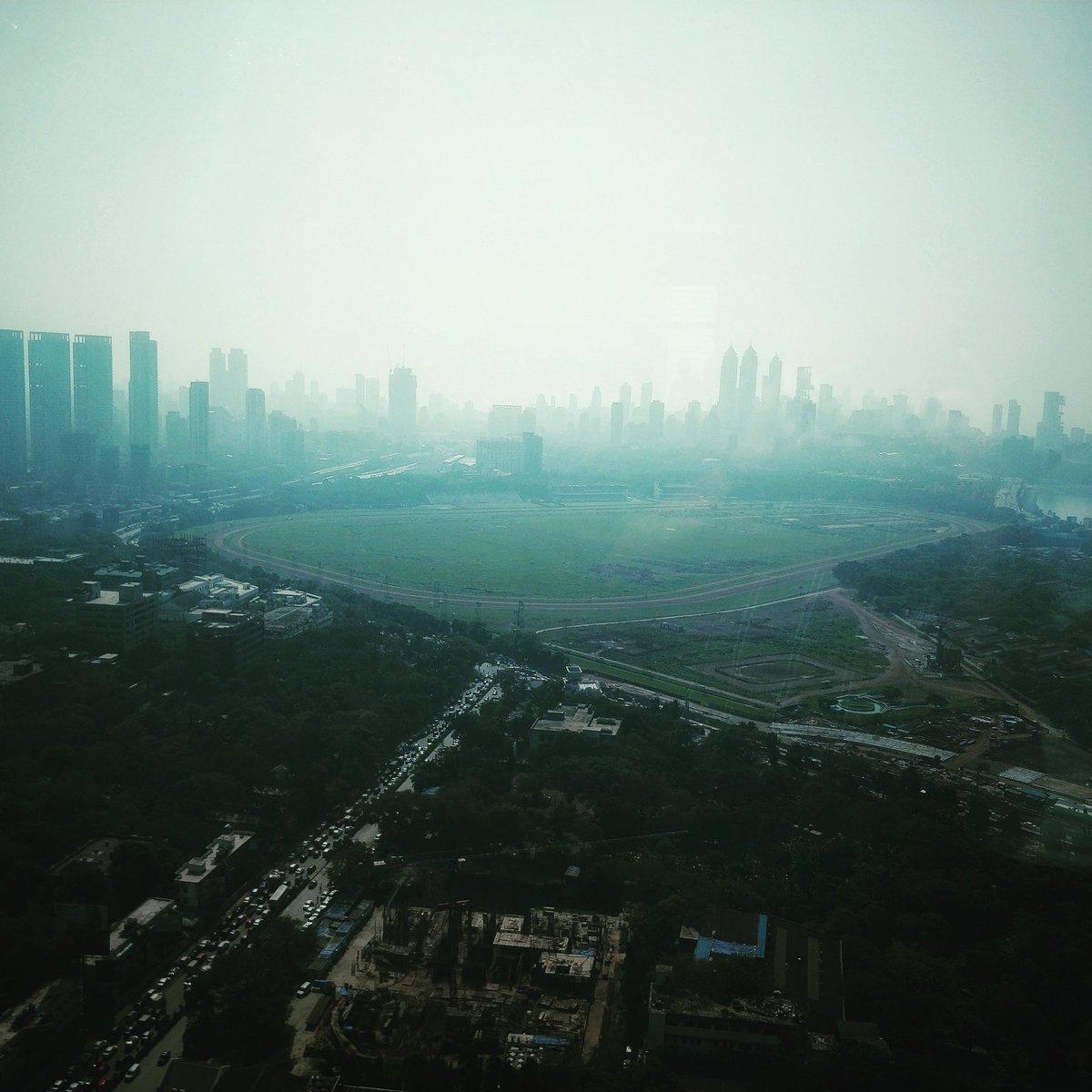 At Twilight Time, The Smog Makes A Rainb...