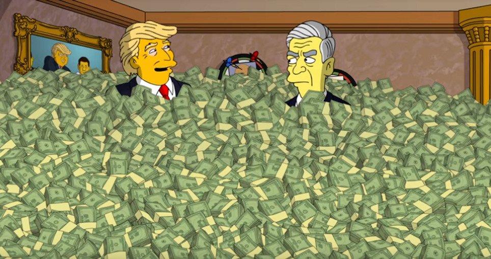 Les Simpson dévoilent une nouvelle vidéo contre Donald Trump - https://t.co/UXNej140gk