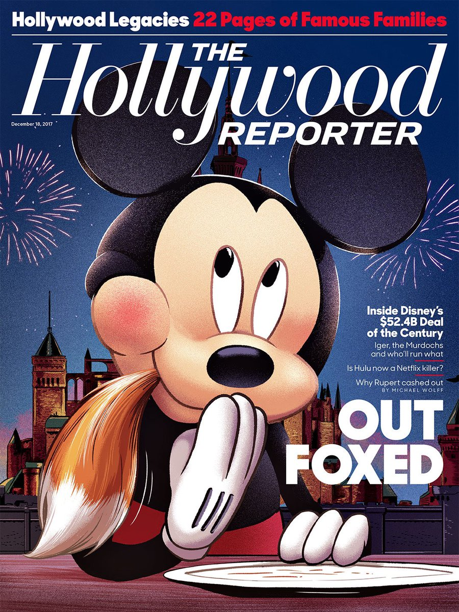 Today' @THR cover is a classic. https://...