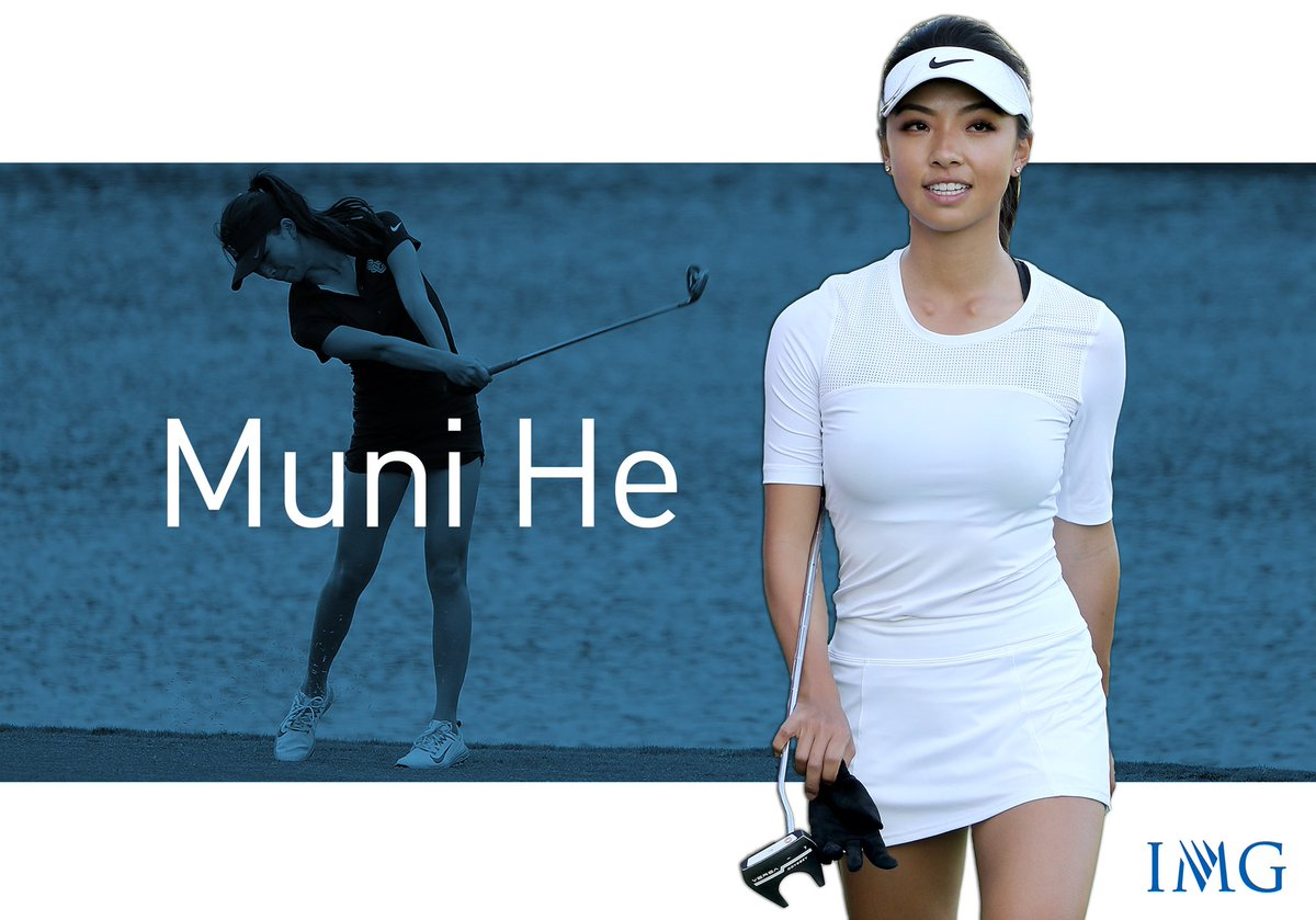 Image result for Muni He golfer