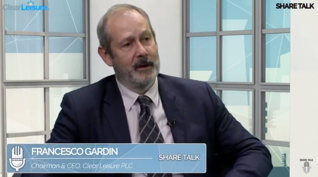 ICYMI from Monday: #CLP exclusive interview with Executive Chairman Francesco Gardin on @Share_Talk   https://www. youtube.com/watch?v=K0wh_U RsOd8 &nbsp; …  … #Italia #Leisure #Investing #AIM<br>http://pic.twitter.com/D02Yj9NsWT