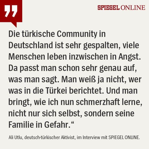Der deutsch-türkische Aktivist @AliCologne schreibt auf Facebook und Twitter kritisch über Präsident Erdogan. Nun wird seine Familie in der Türkei bedroht - und Utlu will jetzt schweigen. Das ganze Interview gibt es hier ➡ https://t.co/F1bSiaolkx