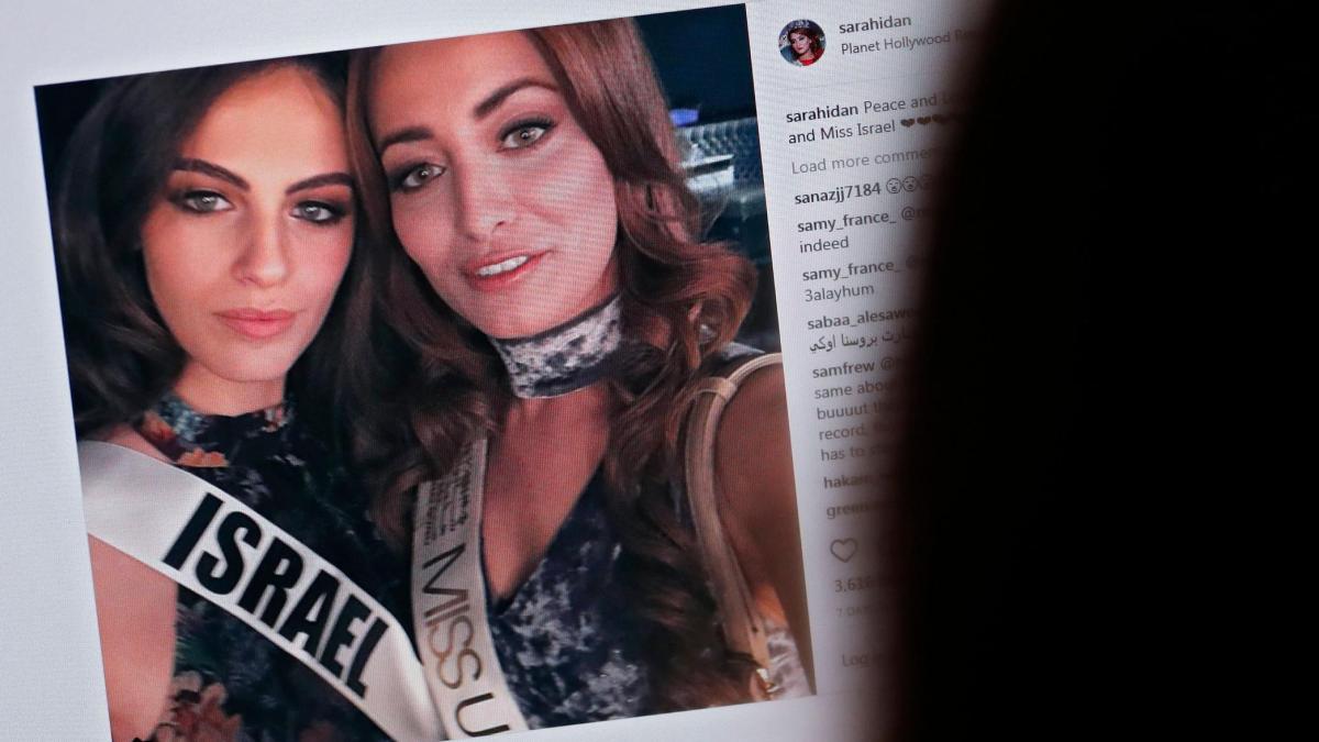 'Miss Irak' bekommt Todesdrohung nach Selfie mit 'Miss Israel' https://t.co/oERJCo7bQm