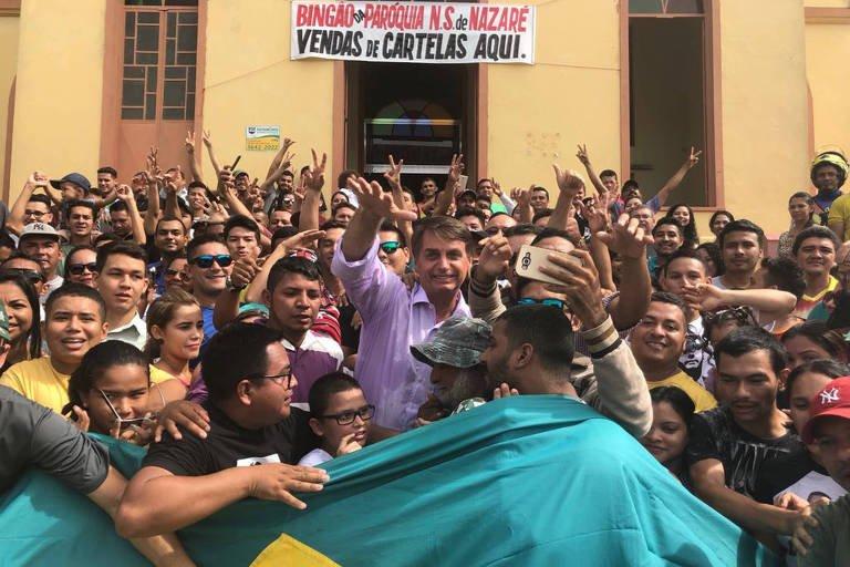 Pré-candidato à Presidência | Bolsonaro recua de carta branca para matar: 'é para PM não morrer' https://t.co/4NWOJABauL
