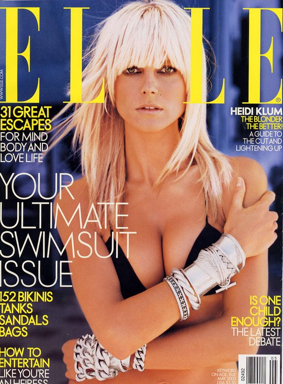 Blast From the Past: #2003 cover for @ELLEmagazine #TimeFlies