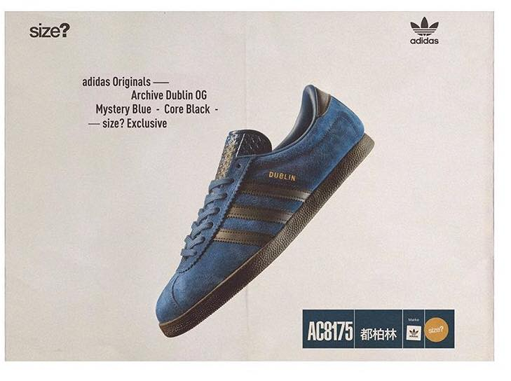 22/12 Dublin drop 2 Size? exclusive #adi...