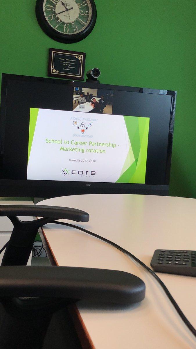 Proud to be apart of the #School2Career Partnership with  .@CoreBTSLI .@mineolahs #STEM #EducationTech #TechNews @pomara_matt @sarareed @mtvisme<br>http://pic.twitter.com/85n5x5iKfP