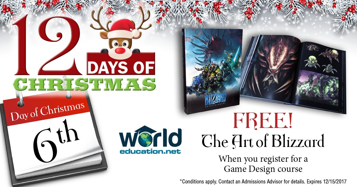 World Educationnet On Twitter On The Th Day Of Christmas Enroll - Video game designer working conditions