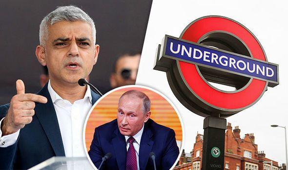 Labour's Sadiq Khan's SECRET DEAL to advertise RUSSIAN PROPAGANDA on London underground https://t.co/W2f0lEgxgP