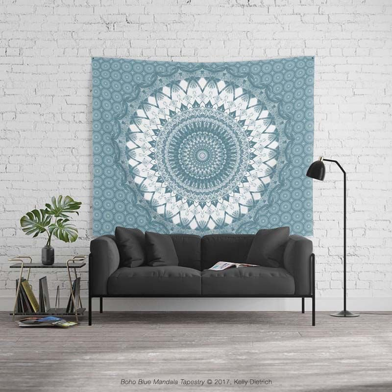 Boho Blue Mandala Wall Tapestry Everything 25% off today. Get yours here »  http:// bit.ly/2BdYgva  &nbsp;    #mandala #wallart #homedecor #decor #mandalaart #boho #bohemian #bohostyle #sale #promo #promotion <br>http://pic.twitter.com/GLSZehGhNE